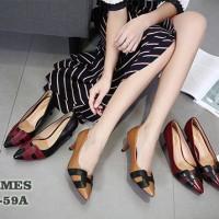 H E R M E S Classy Heels 277-59A