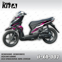 DEKAL STIKER MOTOR HONDA ALL NEW BEAT INJEKSI 2016 (D-X4-003)