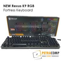 Jual New Keyboard Rexus K9 RGB Fortress Murah