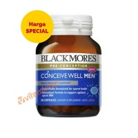 Blackmores Conceive Well Men - 28 Kapsul