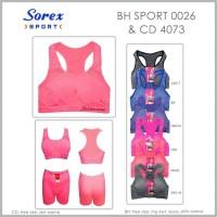 Jual Bra Sport dan Celana Senam Sepasang Sorex sp 0026 + 4073 Murah