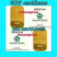 Jual 5 Gram Emas ANTAM | logam mulia | BERSERTIFIKAT | FINE GOLD 999,9%| Murah