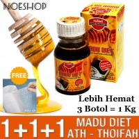 Madu Diet Ath-Thoifah Obat Herbal Pelangsing Asli Original At-Thoifah