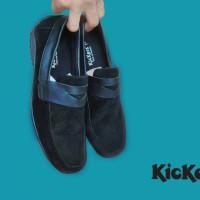 Jual Sepatu casual pria moccasin kickers suede Murah