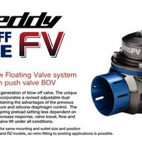 Exclusive GReddy BOV Blow Off Valve Type FV 40mm - BLUE Terbaru