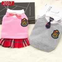 Baju seragam sekolah jepang anjing & kucing