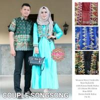 pusat GROSIR baju songsong couple suami & istri balotelly batik