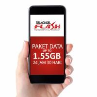 Telkomsel FLASH Paket Data Internet 5.2gb as / simpati / loop