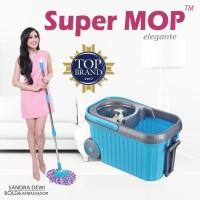 Jual Alat Pel Super MOP BOLDe NEW ELEGANTE   Stainless+botol wangi+drainase Murah