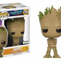 Jual ORIGINAL Funko Pop Guardian of the Galaxy Vol 2 Teenager Groot (Grumpy Murah
