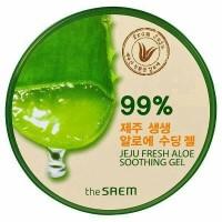 Jual The Saem Jeju Fresh Aloe Vera Soothing Gel 99% Murah