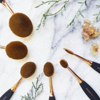 Jual PRO OVAL BRUSH SET Mineral Botanica Murah
