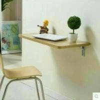 meja dinding / meja laptop / minimalis / meja lipat