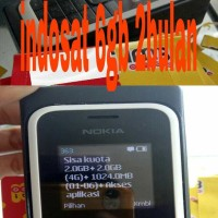 kartu perdana kuota internet 6gb indosat im3 masa aktif 2bulan