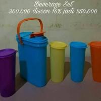Jual Tupperware Beverage Set Tumbler 4pcs Murah