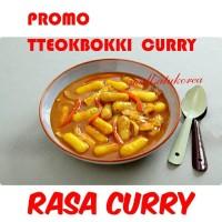 Tteokbokki / Yopokki Rasa Curry Tteok Include Sauce