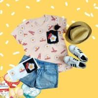 eggs full pocket kaos TUMBLR TEE T-shirt wanita cewe