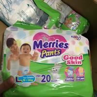 Jual Merries pants pampers bayi murah merries good skin diapers Murah