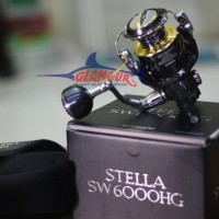 Reel/Katrol Shimano Stella SW 6000 HG