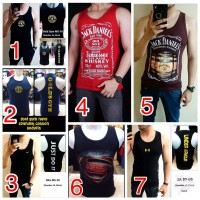 Singlet Baju Kaos Fitness gym Fitnes Underarmour under armour punisher