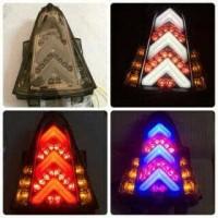Stoplamp Yamaha R15 LED 3in1 Lampu Kota + Rem + Sein Murah