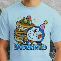 Baju Doraemon Graphic 30 # Kaos / Raglan / Tshirt Ocean Seven
