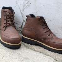 Jual Sepatu Boots Safety Pria RGClothes Termo Ori Handmade Murah