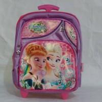 harga Tas Sekolah Troli Roda Dorong Ransel Trolley Anak Frozen Tokopedia.com