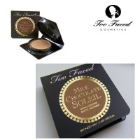 TOO FACED MILK CHOCOLATE SOLEIL LIGHT/MEDIUM MATTE BRONZER TRAVEL SZ