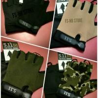 Sarung Tangan Motor 511 - Half Finger Glove 5.11