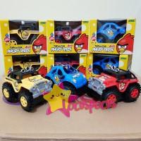 Jual Angry Birds 4WD Tipping Car set isi 3 mobil gila Mainan anak mobilan Murah