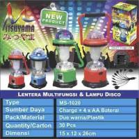 Emergency Lentera   powerbank dan lampu disco MITSUYAMA MS-1020