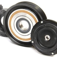 Magnet Magnit Clutch Pully Puli AC Mitsubishi Grandis Merk :Denso Asli