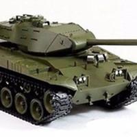 RC Tank Heng Long 2.4Ghz USM41A3 Walker Bulldog 1:16(Smoke & Sound)
