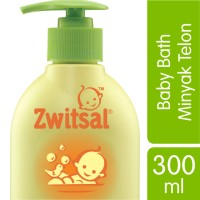 Zwitsal Baby Bath Natural with Minyak Telon 300ML