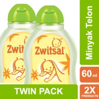 Zwitsal Baby Natural Minyak Telon - 60ml Multi Pack