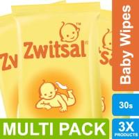 Zwitsal Baby Tissue Basah Classic - 30sheets Multi Pack ED Juni 2019