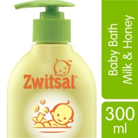 Zwitsal Baby Bath Natural with Milk and Honey 300ML