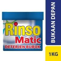 harga Rinso Matic Deterjen Bubuk Bukaan Depan 1kg Tokopedia.com