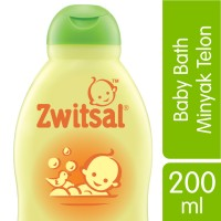 Zwitsal Baby Bath Natural with Minyak Telon 200ML