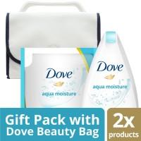 harga Paket Dove Aqua Moisture Body Wash Free Travel Bag Tokopedia.com