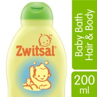 Zwitsal Baby Bath 2in1 Hair&Body Natural 200ML