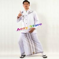 Celana Sarung Uje Wadimor & Bin Affan Dewasa Putih