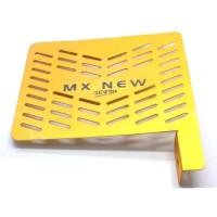 TUTUP RADIATOR CNC JUPITER MX NEW GOLD