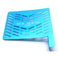 TUTUP RADIATOR CNC JUPITER MX NEW BLUE