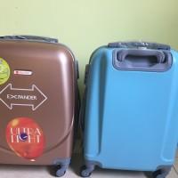 Tas Travel Koper Polo Maple Fiber ABS utk Kabin Size 24 Inch Simple &