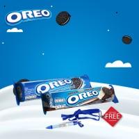 harga [gratis Pulpen] Oreo Vanilla 137gr + Dark & White Chocolate 137gr Tokopedia.com