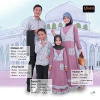 Qirani Sarimbit Fresh 02 B - Sarimbit Keluarga Muslim/ baju Couple