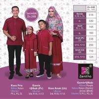Sarimbit Zenitha ZN 248 - Baju Muslim Keluarga - Busana Keluarga
