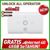 Jual MiFi Modem WiFi 4G LTE Huawei E5673 Unlock All Operator Murah